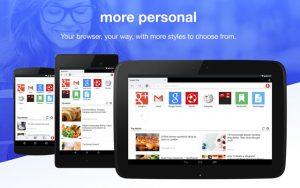 Opera Mini para Android se actualiza con una interfaz de usuario rediseñada