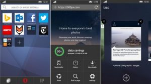Opera Mini para Windows Phone actualizado con una importante revisión de diseño
