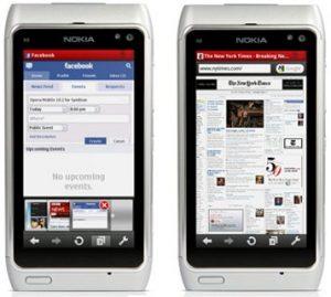 Opera Mobile 10.5.1 actualizado para solucionar problemas