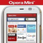 Opera Mini 5.1 para teléfonos con Windows Mobile