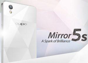 Oppo Mirror 5s con pantalla HD de 5 pulgadas presentado