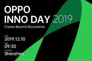 Oppo acogerá la conferencia INNO DAY 2019 en China el 10 de diciembre