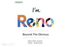 Oppo confirma la fecha de lanzamiento de su teléfono inteligente insignia Oppo Reno 10X Zoom 5G