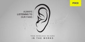 POCO confirmado para lanzar pronto TWS Earbuds en India