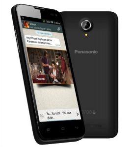 Panasonic T41 con procesador de cuatro núcleos y Android KitKat disponible en línea para Rs.  7999