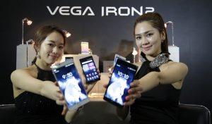 Pantech Vega Iron 2 con pantalla Full HD de 5.3 pulgadas y CPU Snapdragon 801 anunciado