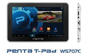 Pantel lanza Penta T-Pad WS707C por Rs.  7999