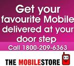 Para entrega a domicilio de teléfonos celulares: marque 1800-209-6363, cortesía de The Mobile Store