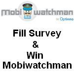 Participar y ganar Mobiwatchman: Encuesta MobiGyaan Mobiwatchman