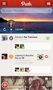 Path para Android, iOS se actualiza;  Funciones de mensajería privada