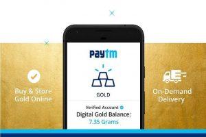 Paytm ahora permitirá a los usuarios convertir reembolsos en efectivo a Paytm Gold