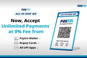 Paytm lanza un código QR todo en uno que acepta cualquier aplicación UPI y tarjetas de débito RuPay