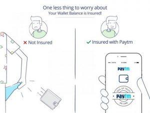 Paytm ofrece seguro de billetera gratuito a todos los usuarios de Paytm