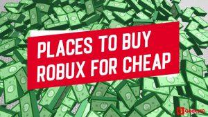 (10+) Los mejores lugares para comprar Robux a bajo precio legalmente en 2020