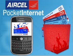Plan Aircel Pocket Internet 24 para usuarios de Internet móvil por primera vez