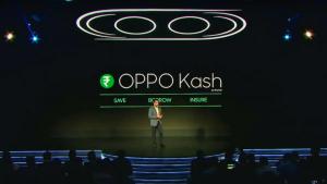 Plataforma de servicios financieros OPPO Kash anunciada en India