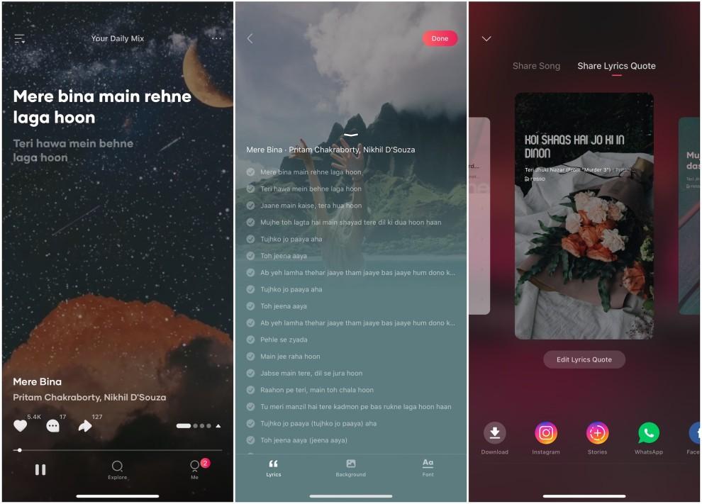 Resso-Capturas de pantalla