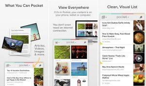 Pocket para iPhone, iPad y iPod Touch actualizado, trae funciones mejoradas para compartir