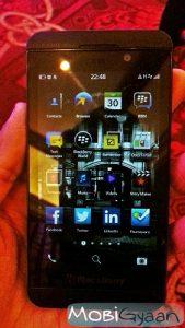 Práctica: BlackBerry Z10 [Pictures]