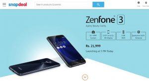 Precios de Asus Zenfone 3 revelados antes del lanzamiento;  Empieza en Rs.  21999
