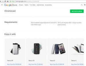 Precios de LG Nexus 5X y Huawei Nexus 6P en India revelados en Google Store