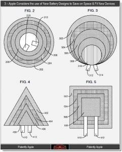 Prepárese para baterías cuadradas, circulares y triangulares en dispositivos Apple