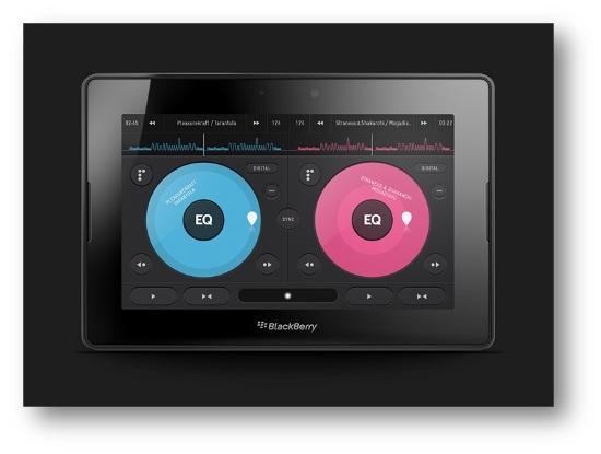 Prepárese para hacer scratch, mezclar y repetir, Pacemaker llega a BlackBerry Playbook
