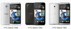 Presentación de la serie HTC Desire 7000: lanzamiento de Desire 709d, Desire 7088 y Desire 7060