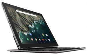 Presentación de la tableta Google Pixel C con pantalla de 10,2 pulgadas y procesador NVIDIA Tegra X1