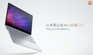 Presentación del portátil Xiaomi Mi Notebook Air 4G Windows 10 con ranura para tarjeta SIM
