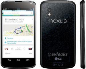 Presunta foto de prensa del LG Nexus 4 se filtra en Twitter