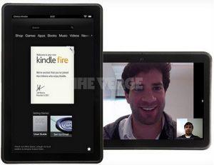 Presuntas imágenes de la nueva fuga de Kindle Fire