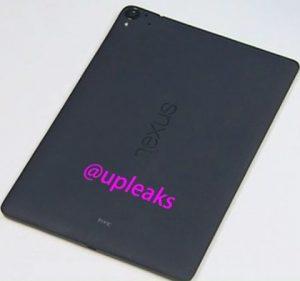 Primeras imágenes de la superficie de la tableta HTC Nexus 9