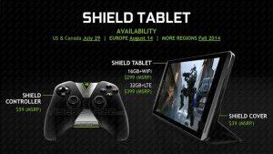 Próximamente, la tableta para juegos NVIDIA Shield con procesador Tegra K1