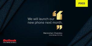 Próximo teléfono inteligente POCO confirmado para lanzarse en India el próximo mes