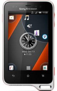 Prueba de 'estrés' con agua del Sony Ericsson Xperia Active [Video]