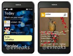 Pulse renders de desconocidos teléfonos Nokia de doble SIM filtrados;  Podría ser el Asha 504