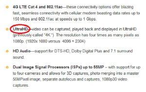 Qualcomm dice que los videos 4K UltraHD llegarán a los dispositivos antes de finales de 2013