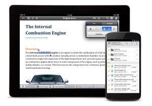 QuickOffice ahora está disponible de forma gratuita en Android e iOS;  10 GB de espacio adicional en disco