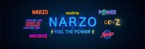 Realme se burla de la nueva línea de teléfonos inteligentes Narzo para el mercado indio