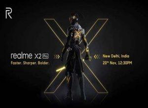 Realme X2 Pro se lanzará en India el 20 de noviembre