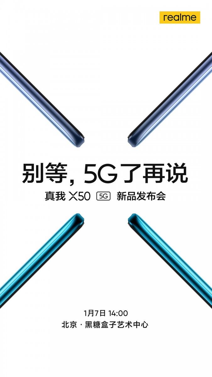 Realme-X50-5G-Fecha de lanzamiento