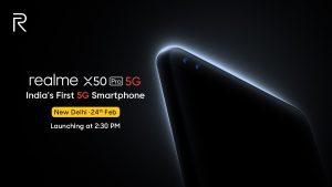 Realme X50 Pro 5G confirmado para lanzarse en India el 24 de febrero