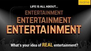 Realme lanzará pronto un teléfono inteligente centrado en el entretenimiento en India [Update: False alarm]