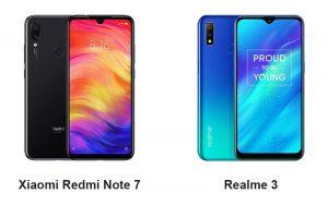 Redmi Note 7 vs Realme 3 - ¿Cuál es mejor?