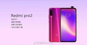 Redmi Pro 2 se filtró en línea;  cuenta con cámara frontal emergente y chipset Snapdragon 855
