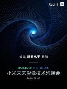 Redmi podría presentar su teléfono inteligente con cámara de 64 MP el 7 de agosto