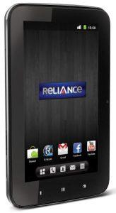 Reliance CDMA Tab lanzado en Rs.  12,999
