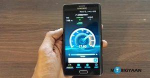 Prueba de velocidad de Reliance Jio 4G [Video]