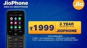Reliance Jio anuncia nuevos planes JioPhone 2021: detalles y precios